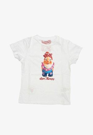 GNOMO  - T-shirt print - bianco