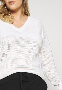 Kaffe Curve - Pullover - chalk - 5