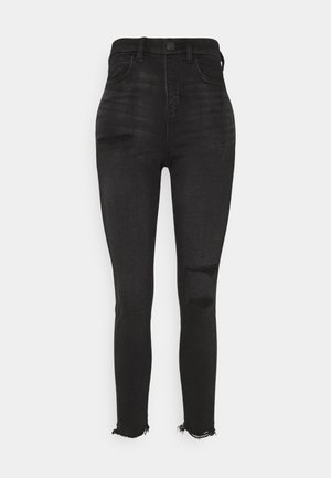 HI RISE - Jeans Skinny Fit - fade to black