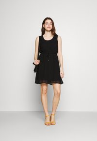 ONLY - ONLLINA DRESS - Cocktail dress / Party dress - black - 1