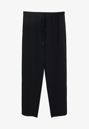 SEMIFLU - Trousers - black