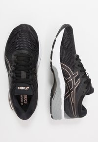 ASICS - GT-2000 8  - Zapatillas de running estables - black/rose gold - 1
