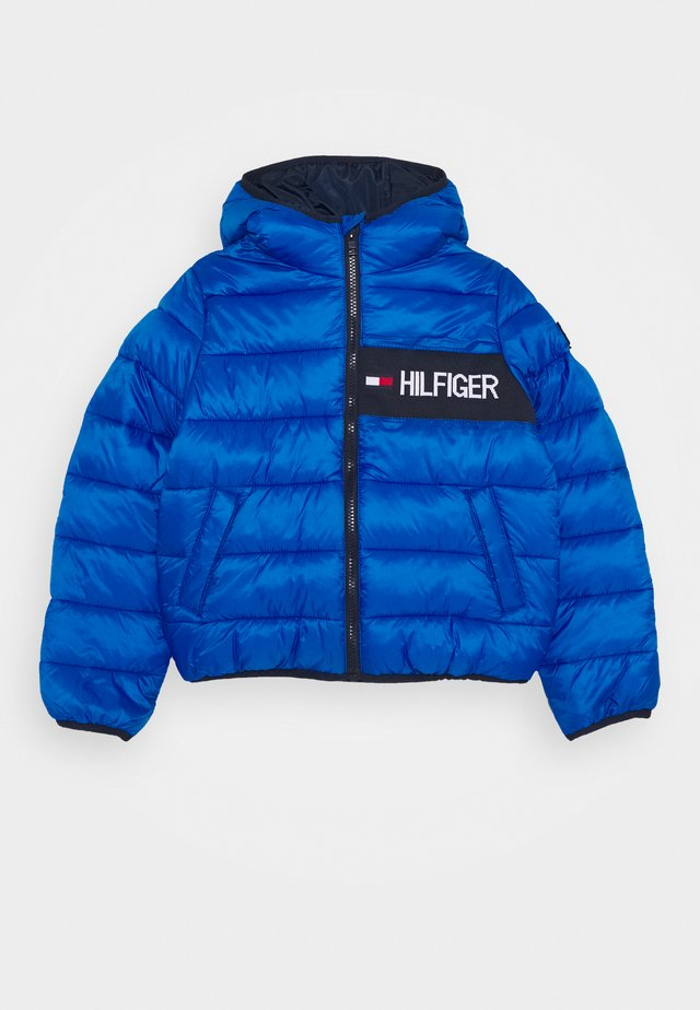 ESSENTIAL PADDED JACKET - Zimní bunda - blue