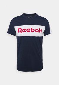 Reebok - GRAPHIC TEE - T-shirts print - vecnav/white - 0
