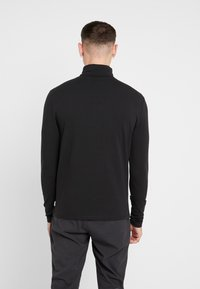 Only & Sons - ONSMICHAN SLIM ROLLNECK TEE - Top s dlouhým rukávem - black - 2