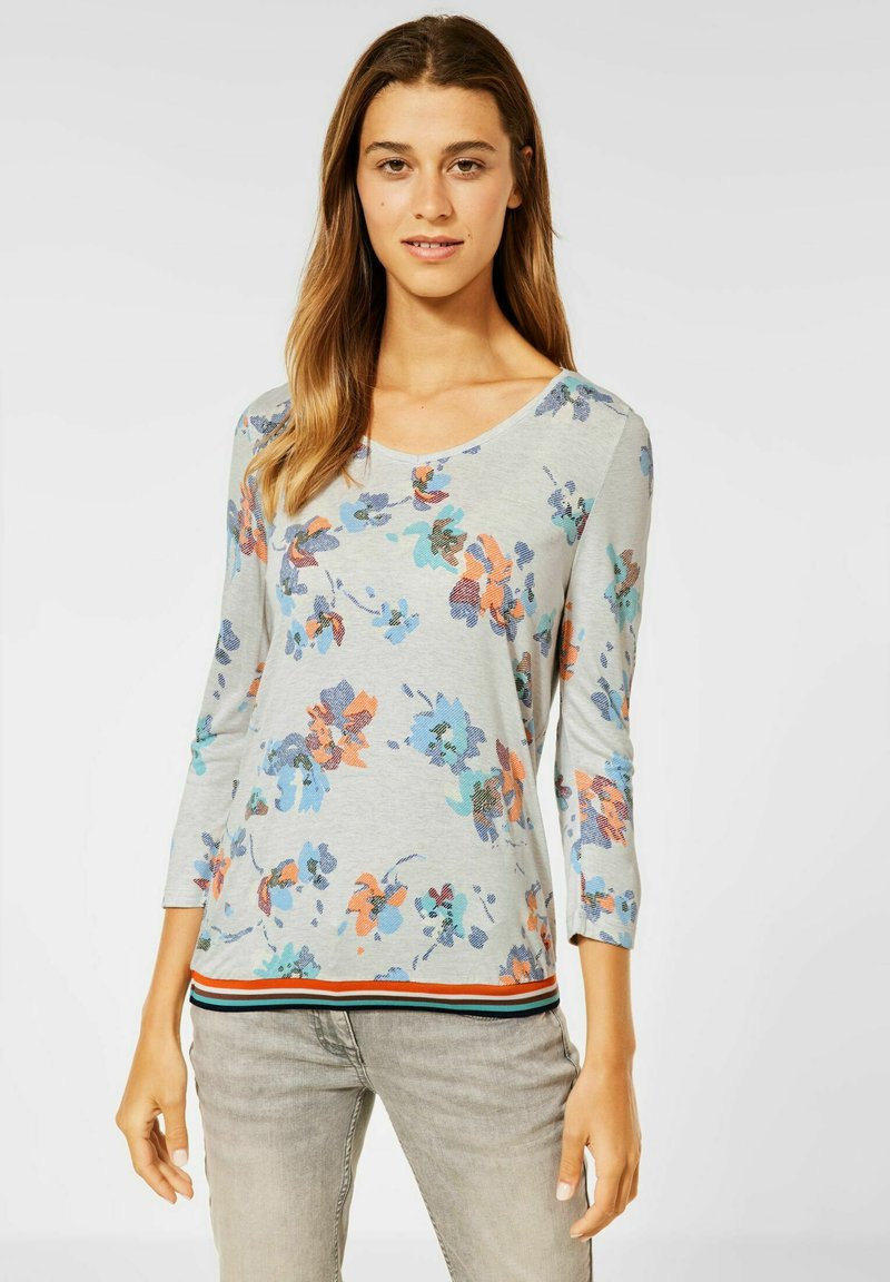 Cecil - Long sleeved top - weiß