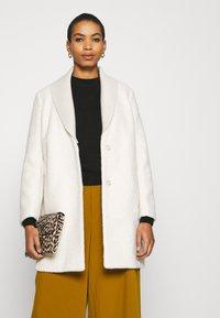 Sisley - COAT - Cappotto classico - offwhite - 4