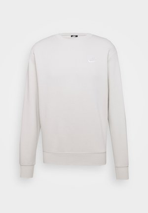 CLUB - Sweatshirts - light bone/white
