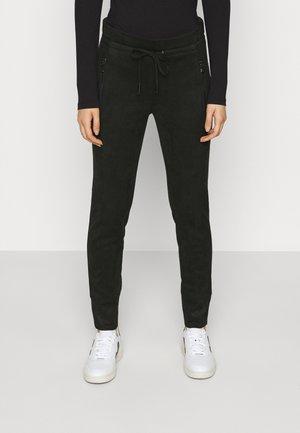 LEVINA SOFT - Kalhoty - black