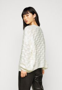 Fashion Union Petite - WEAVE - Jumper - cream - 2