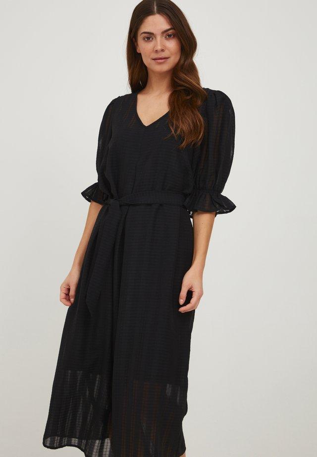 IXIVETTE - Korte jurk - black