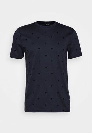 PANOS - Print T-shirt - dark blue