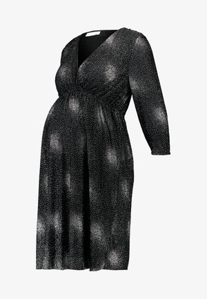 SPARKLE TWIST DRESS - Denní šaty - black