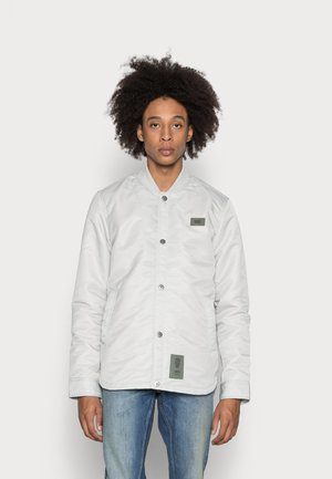 DEGREES PADDED - Summer jacket - oyster blue