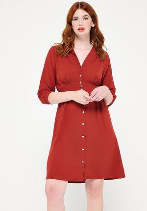 STRAIGHT - Shirt dress - pink