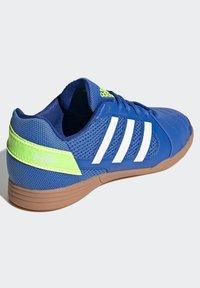 adidas Performance - TOP SALA UNISEX - Indoor football boots - globlue/white/royalblue - 3