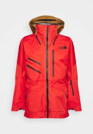 BRIGANDINE FUTURELIGHT JACKET EVE - Ski jacket - flare/timbertan