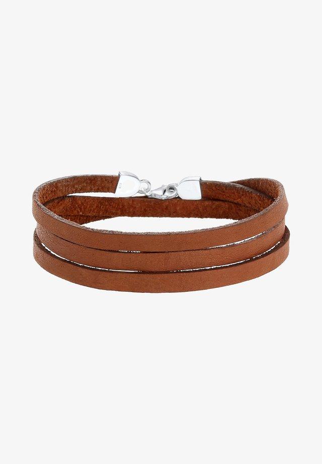 Bracelet - brown-coloured