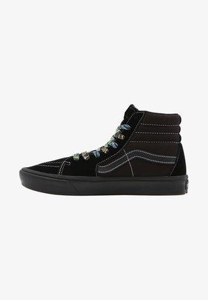 UA COMFYCUSH  - Sneaker high - black/black