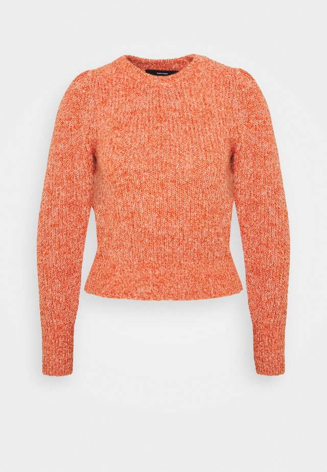 VMPEPPER O-NECK - Jumper - red clay/birch