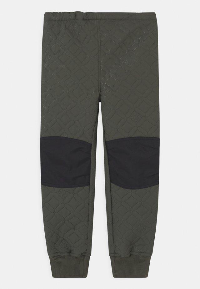 PELMO THERMO UNISEX - Pantalons outdoor - dark green