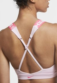Nike Performance - Sports bra - pink foam/hyper pink/hyper pink - 4