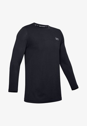 SEAMLESS LS - Long sleeved top - black
