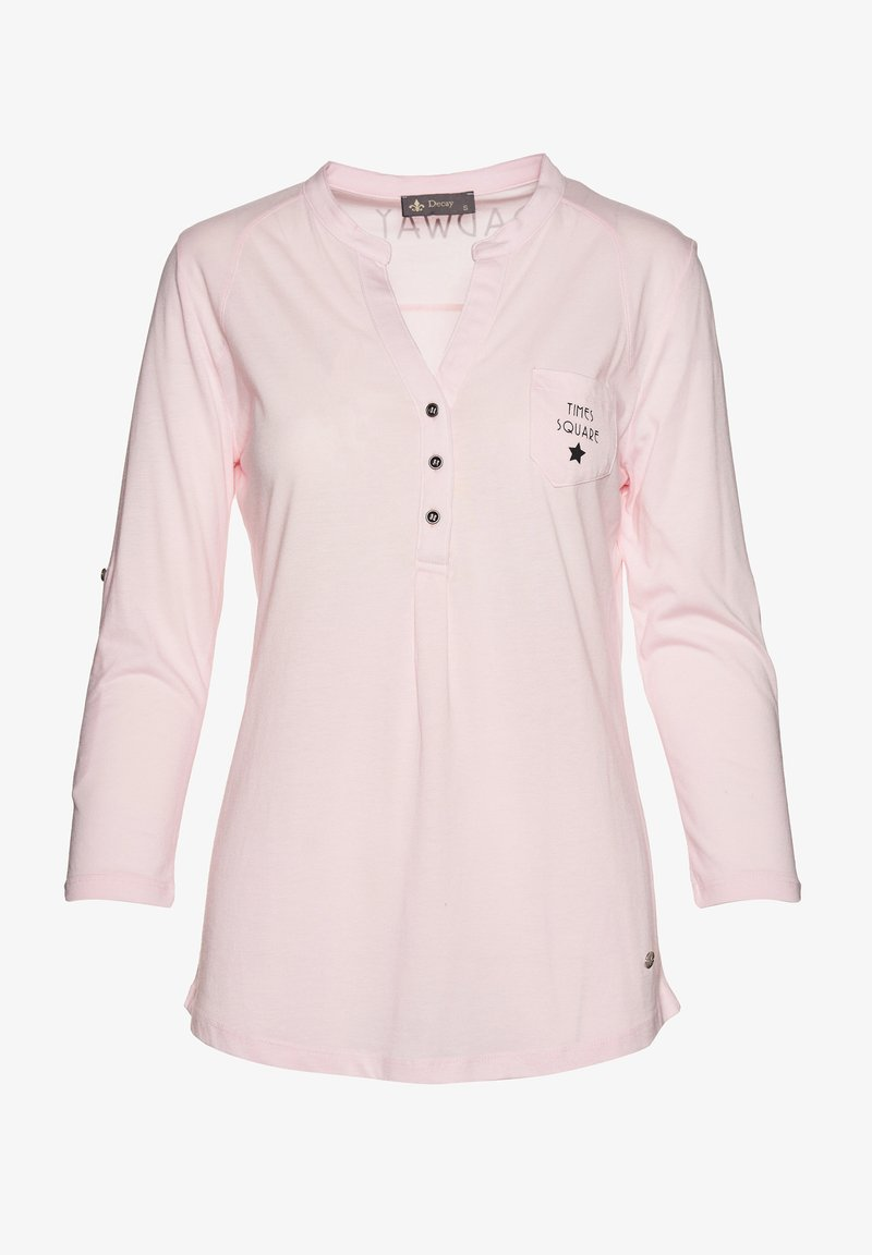 Decay - Long sleeved top - rosa