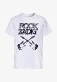 Zadig & Voltaire - SHORT SLEEVES - Print T-shirt - white - 0