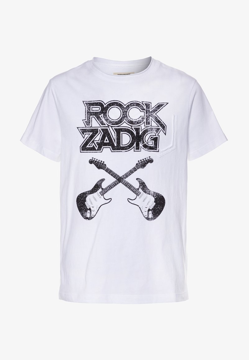 Zadig & Voltaire - SHORT SLEEVES - Print T-shirt - white
