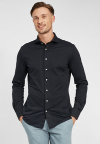 PROFUOMO - JAPANESE KNITTED - Shirt - navy - 0