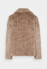 Dorothy Perkins Petite - WAVE COLLAR AND REVERE COAT - Winter jacket - mink - 1