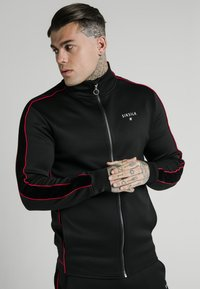 SIKSILK - IMPERIAL ZIP THROUGH FUNNEL NECK - Giacca sportiva - black - 0