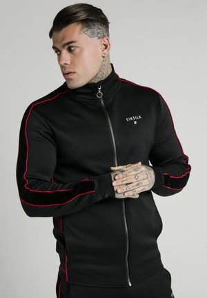 IMPERIAL ZIP THROUGH FUNNEL NECK - Träningsjacka - black