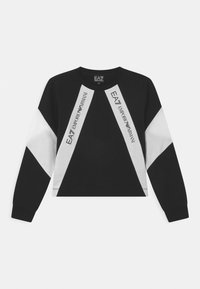 Emporio Armani - EA7 GIRL  - Sweatshirt - black - 0
