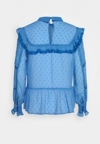 NAF NAF - FLEX - Langærmede T-shirts - bleu pensee - 1