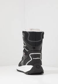 KangaROOS - K-LUCKY RTX - Lace-up boots - jet black/silver - 4