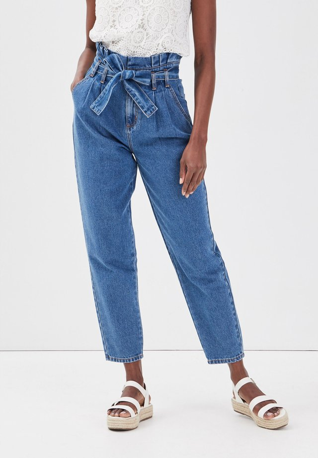 Jeans a zampa - denim double stone