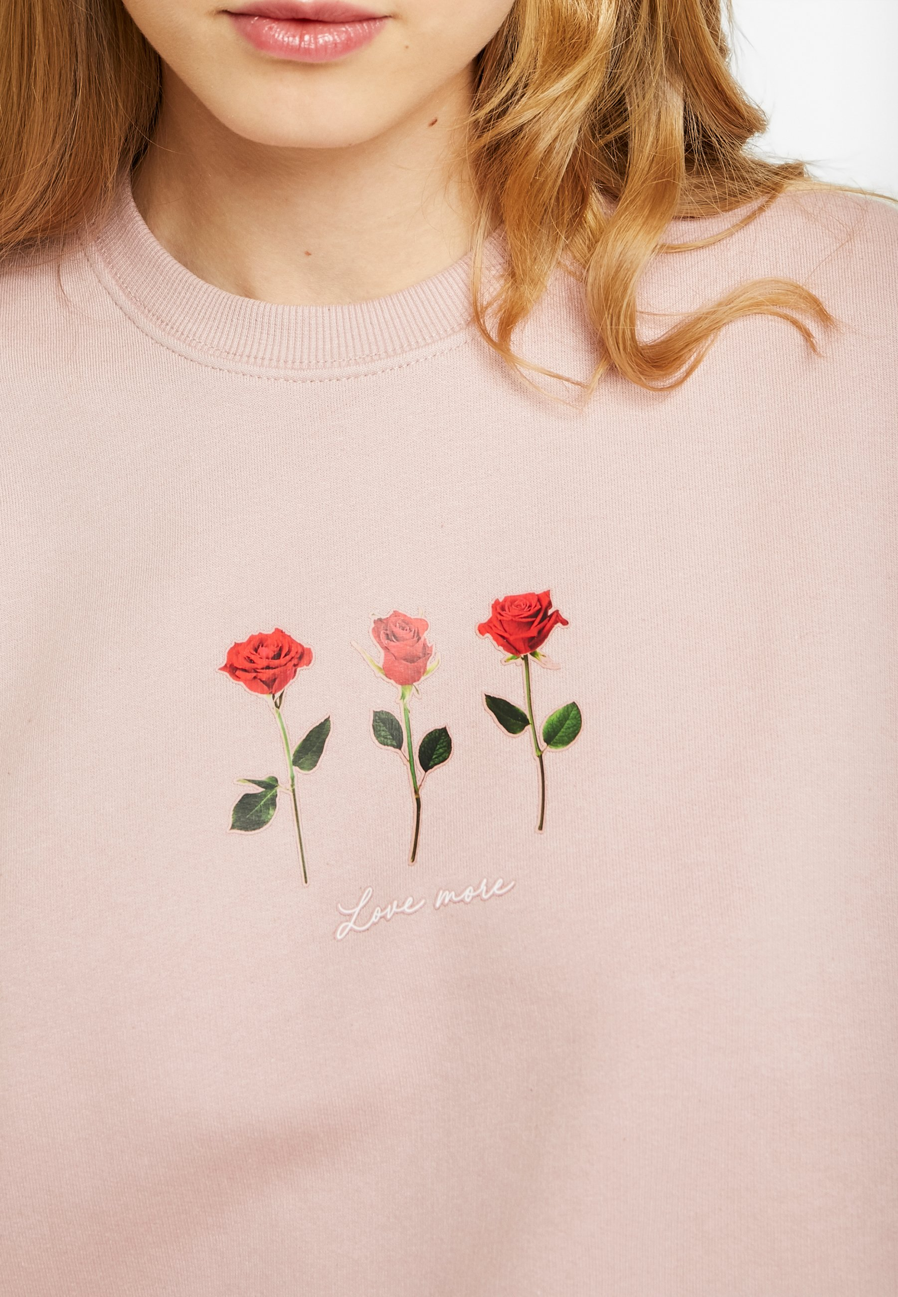 New Look LOVE MORE Sweatshirt nude Zalando.at