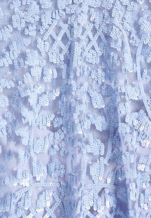 Needle & Thread AURELIA - Bluzka - wedgewood blue/jasnoniebieski KMHC