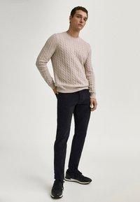 Massimo Dutti - Slim fit jeans - black denim - 1