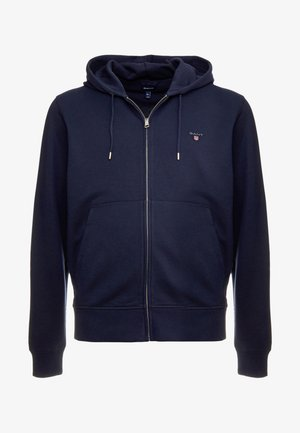 THE ORIGINAL FULL ZIP HOODIE - Hoodie met rits - evening blue