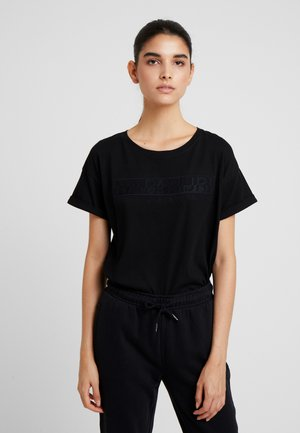 SERBER WOM - Print T-shirt - black