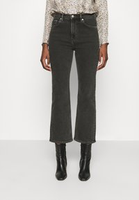 ARKET - Relaxed fit jeans - black dark - 0