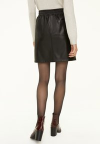 comma casual identity - A-line skirt - black - 2