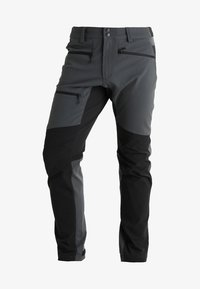Haglöfs - RUGGED FLEX PANT MEN - Pantalones montañeros largos - magnetite/true black - 6