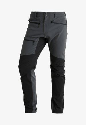 RUGGED FLEX PANT MEN - Długie spodnie trekkingowe - magnetite/true black