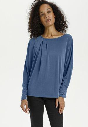KALIFFA - Long sleeved top - blue mirage