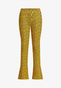 WE Fashion - Broek - yellow - 3