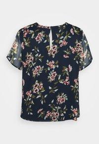 Vero Moda Curve - VMKAY - Print T-shirt - navy blazer - 1